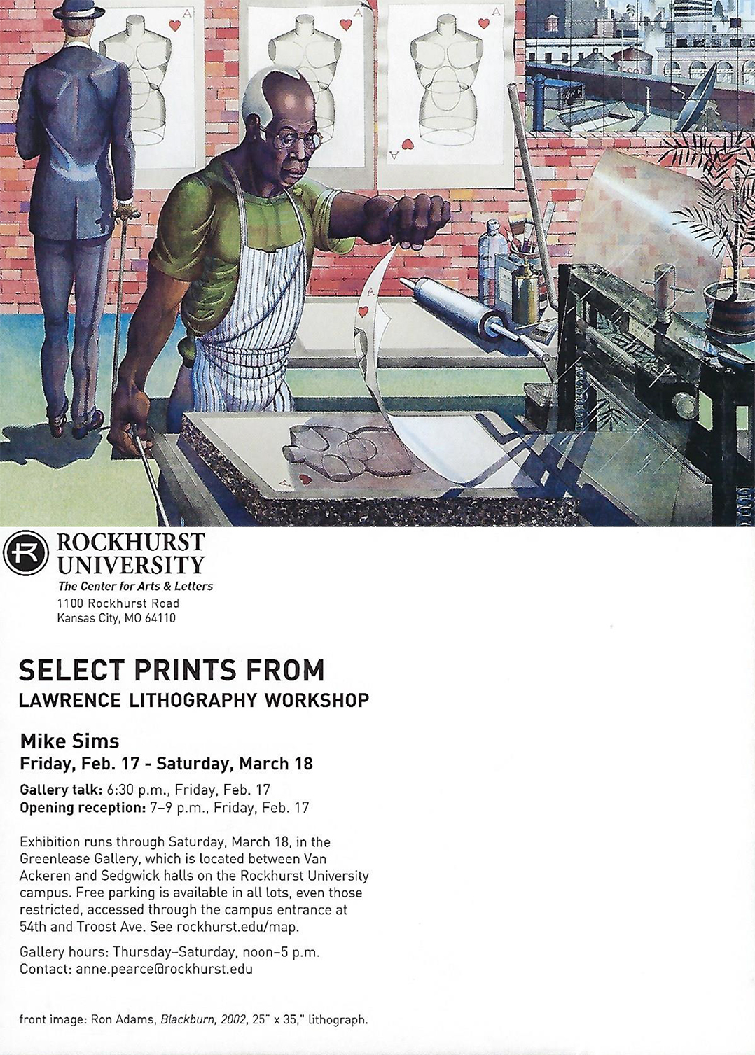 Select Prints From Lawrence Lithography Workshop At Greenlease